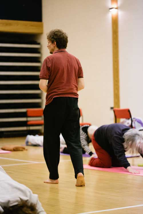 Paul Beard Yoga Workshop